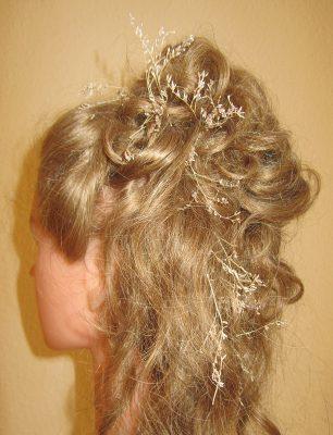 Steckfrisur langes Haar